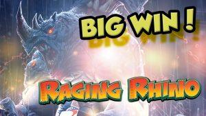 BIG WIN!!!! Raging Rhino Big win – Casino – Bonus Round (Casino Slots)