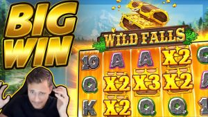 BIG WIN !!! Wild Falls BIG WIN !! Kazino slots no CasinoDaddy Live Stream