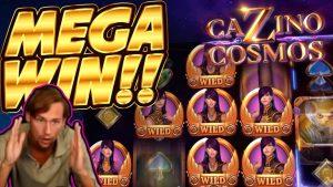 CHIẾN THẮNG !!! Cazino Cosmos BIG WIN - Trò chơi sòng bạc từ luồng Casinodaddy