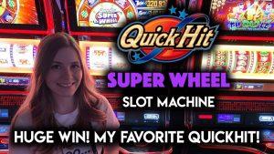 HUGE WIN! QUICK HIT SUPERWHEEL! My New FAVORITE Quick Hit Slot Machine!!