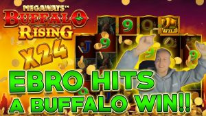 Buffalo Rising BIG WIN - Rebħa enormi fuq 1000x - spins bla ħlas (Casino Online)