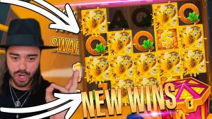 ROSHTEIN Big Win trên slot Wild Swarm - Chiến thắng mới trên luồng sòng bạc