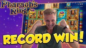 RECORD WIN !!!! Pharaohs Ring Großer Gewinn - Casino - Riesiger Gewinn (Online Casino)