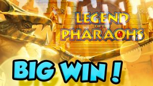 BIG WIN!!!! Legend of the Pharaohs Big win – Casino – Bonus Round (Casino Slots)
