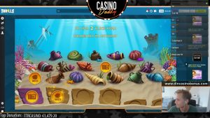 BIG WIN - Kuldne kalatank - Casino Stream