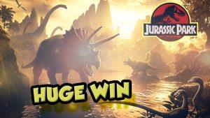 CHIẾN THẮNG LỚN!!!! Jurassic Park Thắng lớn - Sòng bạc - Vòng thưởng (Sòng bạc trực tuyến)