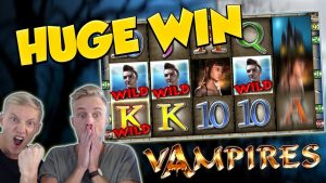 BIG WIN!!! Vampiers Huge Win – Casino Games – Slots (gambling)