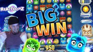 BIG WIN Reactoonz – Huge win – Casino (Online Casino) – Kasinokeisari