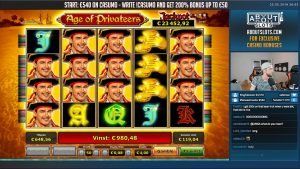 BIG WIN!!! Age of Privateers BIG WIN – Casino Games – Novomatic (gambling)