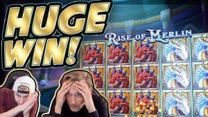 VERI QENDRORE! Ngritja e Merlinit BIG WIN !! Lojëra Kazinoje nga CasinoDaddy Live Stream