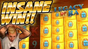HUGE WIN!!!! Legacy Of Ra BIG WIN – INSANE WIN on Casino Game