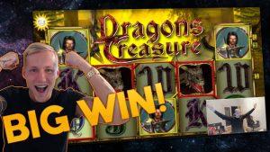 BIG WIN BASEGAME? Dragons Treasure Big win – Casino – Huge Win (Online Casino)