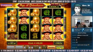 HUGE WIN!! Age of Privateers Big Win – Casino Games – Slots