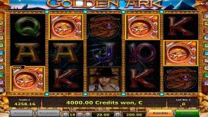 Golden ark slot big win! 4 scatters!  €14.800 win!