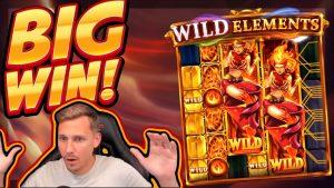 BIG WIN!!! Wild Elements BIG WIN!! Casino Slot from CasinoDaddy Live Stream