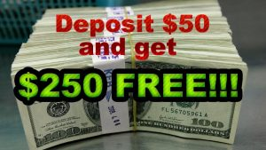 Sloto Cash Exclusive Offer Deposit $ 50、Get $ 250 Free!