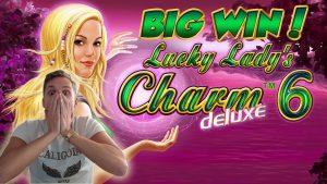 CHIẾN THẮNG LỚN!!!! Lucky Ladys Charm 6 chiến thắng lớn - Sòng bạc - Vòng thưởng (Sòng bạc) từ Live Stream