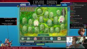 Tajemství kamenů - 512x Big win - Casino slot
