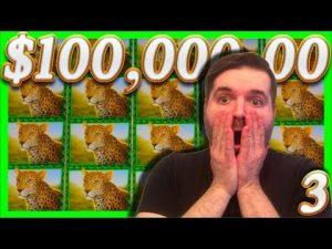 $100,000.00 In Slot Machine Wins! Casino HUGE 1/2 JACKPOT Wins With (3) SDGuy1234