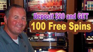 Депозит $ 20 және 100 тегін айналдыру алу үшін SLOTO CASH CASINO