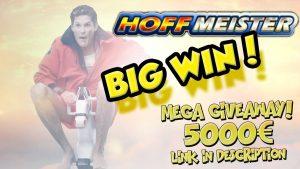 STOR VINNER !!!! Hoffmeister Big win - Casino - Bonus Round (Online Casino)