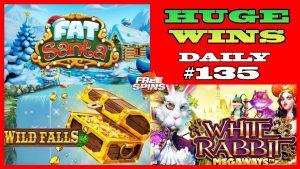 Slot Wild Falls [MENANG BESAR], Kelinci Putih (MEGA WIN), Fat Santa (WIN BESAR) SETIAP HARI # 135