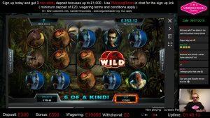 Jurassic Park Big Win | Microgaming | Winning Room Casino