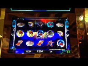 Mystická mořská víla vrací výherní automaty Bonus Big Win $ 05 Wynn Casino Las Vegas