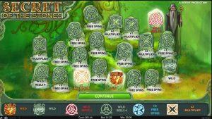 Secret of the Stones Online Casino Big Win!