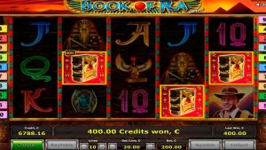 Book Of Ra Big Win! 2 Bonus games.  €200 – bet.