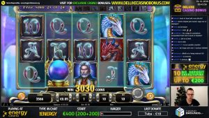 Rise of Merlin ➤ 333X BIG WIN ➤ EnergyCasino 🍀