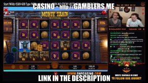 BIG WIN 1555 € on MONEY TRAIN Slot   Casino Stream Live Online Big Wins1