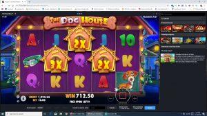 ¡¡¡GRAN VICTORIA!!! Dog House ¡GRAN GANANCIA! Tragamonedas de casino | BITCOIN CASINO