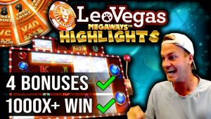 BIG WIN Highlights on LeoVegas Megaways!