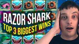 TOP 3 BIG WINS on RAZOR SHARK