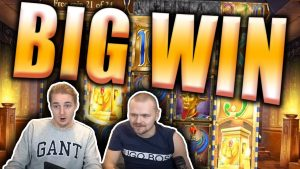 BIG WIN on LEGACY OF DEAD Slot – Double Bonus