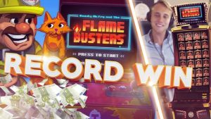 MUST SEE!!!! RECORD WIN ON FLAME BUSTERS HUGE WIN (Casino – Big win)