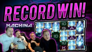 MASSIVE WIN!! Machina Megaways BIG WIN – HUGE WIN on Online Casino from Casinodady