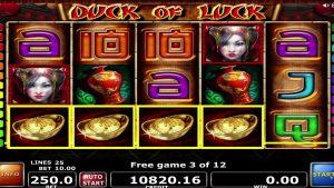 Duck of Luck онлайн слотунун мега утушу - 18250 €