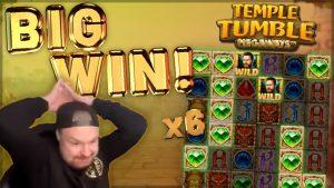BIG WIN!!! Temple Tumble Big Win – Casino Games from CasinoDaddy LIVE STREAM