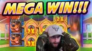 MEGA WIN !! Dog House BIG WIN - Juegos de casino de la transmisión en vivo de Casinodaddy