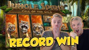 RECORD WIN!!! Jungle Spirit Big win – Casino – Online slots – Huge Win