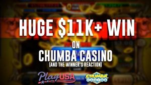 Chumba Casino HUGE WIN | $11k Online Slot Jackpot | Free Sweeps Cash!