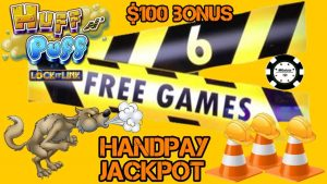 🔒$100 SPIN BONUS GETS US A JACKPOT HANDPAY on Huff N' Puff 🔒HIGH LIMIT Slot Play on Lock It Link 🔒
