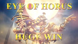 VELKÁ VÝHRA!!!! Eye of Horus velké vítězství - Casino - Bonus Round (Casino Slots)