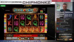 ¡¡¡¡GRAN VICTORIA!!!! Book of Ra 6 - Casino - Ronda de bonificación (dinero real)