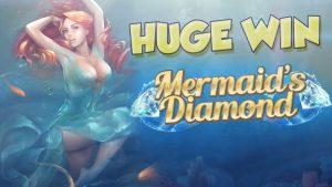 BIG WIN!!!! Mermaids Diamond Big Win – Casino – Bonus Round (Casino Slots)