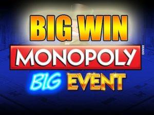 Online Slots RIESIGER GEWINN 20 Euro Wette - Monopoly Big Event BIG WIN