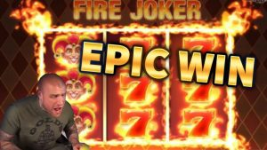 EPIC WIN!!! Fire Joker BIG WIN – MrGambleSlots HUGE WIN on Casino Game