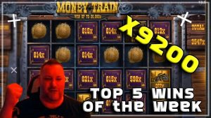 Money Train X9200 HUGE WIN 🔥 Online Casino Top 5 Biggest Wins 15